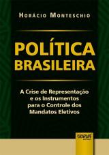 Capa do livro: Política Brasileira, Horácio Monteschio