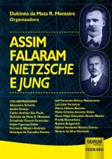 Capa do livro: Assim Falaram Nietzsche e Jung, Organizadora: Dulcinéa da Mata R. Monteiro