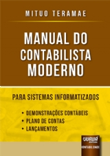 Capa do livro: Manual do Contabilista Moderno, Mituo Teramae