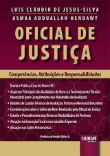 Capa do livro: Oficial de Justiça, Luis Cláudio de Jesus-Silva e Asmaa Abduallah Hendawy