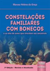 Capa do livro: Constelações Familiares com Bonecos, 3ª Edição - Revista e Atualizada, Marusa Helena da Graça