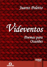 Capa do livro: Videventos, Juarez Poletto