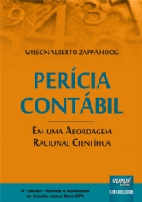 Capa do livro: Perícia Contábil, Wilson Alberto Zappa Hoog