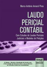 Capa do livro: Laudo Pericial Contábil, Marco Antônio Amaral Pires