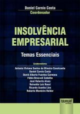 Capa do livro: Insolvência Empresarial - Temas Essenciais, Coordenador: Daniel Carnio Costa