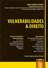 Capa do livro: Vulnerabilidades & Direito, Coordenadora: Amini Haddad Campos