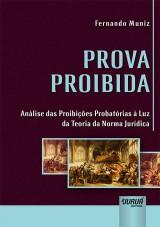 Capa do livro: Prova Proibida, Fernando Muniz
