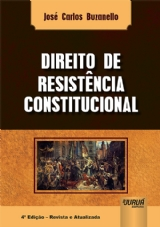 Capa do livro: Direito de Resistência Constitucional, José Carlos Buzanello