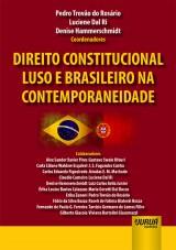 Capa do livro: Direito Constitucional Luso e Brasileiro na Contemporaneidade, Coordenadores: Pedro Trovão do Rosário, Luciene Dal Ri e Denise Hammerschmidt