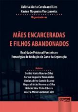 Capa do livro: Mães Encarceradas e Filhos Abandonados, Organizadoras: Valéria Maria Cavalcanti Lins, Karina Nogueira Vasconcelos