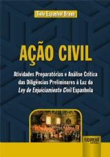 Capa do livro: Ação Civil, Tiele Espanhol Braun