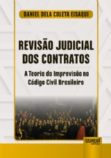 Capa do livro: Revisão Judicial dos Contratos, Daniel Dela Coleta Eisaqui