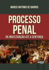 Capa do livro: Processo Penal, Marco Antonio de Barros