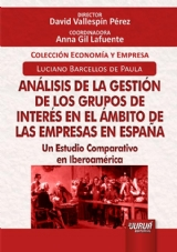Capa do livro: Análisis de la Gestión de los Grupos de Interés en el Ámbito de las Empresas en España, Luciano Barcellos de Paula