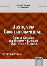 Capa do livro: Justiça na Contemporaneidade, Coordenador: Daniel Vargas