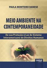 Capa do livro: Meio Ambiente na Contemporaneidade, Paula Monteiro Danese