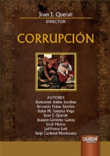 Capa do livro: Corrupción, Director: Joan J. Queralt