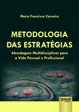 Capa do livro: Metodologia das Estratégias, Maria Francisca Carneiro