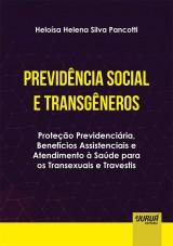 Capa do livro: Previdência Social e Transgêneros, Heloísa Helena Silva Pancotti