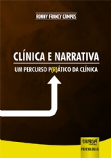 Capa do livro: Clínica e Narrativa, Ronny Francy Campos