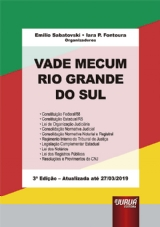 Capa do livro: Vade Mecum Rio Grande do Sul, Organizadores: Emilio Sabatovski e Iara P. Fontoura