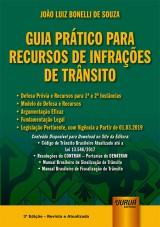 Capa do livro: Guia Prático para Recursos de Infrações de Trânsito, João Luiz Bonelli de Souza