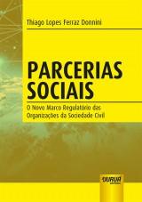 Capa do livro: Parcerias Sociais, Thiago Lopes Ferraz Donnini