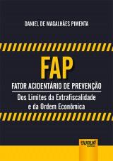 Capa do livro: FAP - Fator Acidentário de Prevenção, Daniel de Magalhães Pimenta