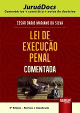 Capa do livro: Lei de Execu��o Penal Comentada, C�sar Dario Mariano da Silva