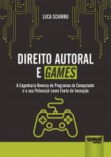 Capa do livro: Direito Autoral e Games, Luca Schirru