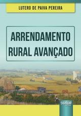 Capa do livro: Arrendamento Rural Avançado, Lutero de Paiva Pereira