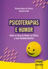 Capa do livro: Psicoterapias e Humor, Mariana Borges da Fonseca e Valeska Zanello