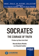 Capa do livro: Socrates - The Courage of Truth - Minibook, Marcelo Bueno Mendes e Luiz Eduardo Gunther