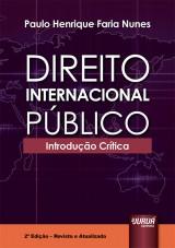 Capa do livro: Direito Internacional Público, Paulo Henrique Faria Nunes