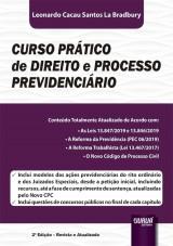 Capa do livro: Curso Prático de Direito e Processo Previdenciário - 2ª Edição - Revista e Atualizada, Leonardo Cacau Santos La Bradbury