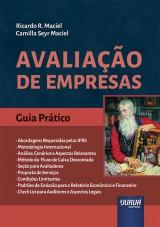 Capa do livro: Avaliação de Empresas, Ricardo R. Maciel, Camilla Seyr Maciel
