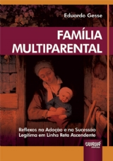 Capa do livro: Família Multiparental, Eduardo Gesse