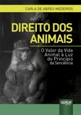 Capa do livro: Direito dos Animais, Carla de Abreu Medeiros