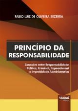 Capa do livro: Princípio da Responsabilidade, Fabio Luiz de Oliveira Bezerra