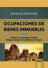 Capa do livro: Ocupaciones de Bienes Inmuebles - Volumen 02, José Miguel Jiménez París