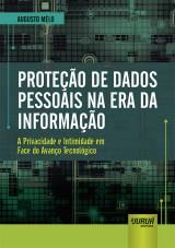 Capa do livro: Proteção de Dados Pessoais na Era da Informação, Augusto Mèlo