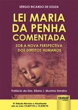 Capa do livro: Lei Maria da Penha Comentada, Sérgio Ricardo de Souza