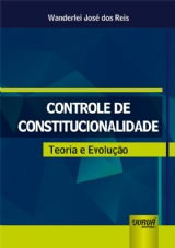 Capa do livro: Controle de Constitucionalidade, Wanderlei José dos Reis