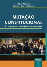 Capa do livro: Mutação Constitucional, Flávio Pansieri e Henrique Soares de Souza
