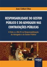 Capa do livro: Responsabilidade do Gestor Público e do Advogado nas Contratações Públicas, Jean Colbert Dias