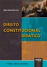 Capa do livro: Direito Constitucional Didático, Cibele Fernandes Dias