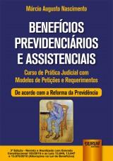 Capa do livro: Benefícios Previdenciários e Assistenciais, Márcio Augusto Nascimento