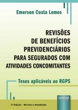 Capa do livro: Revisões de Benefícios Previdenciários, Emerson Costa Lemes