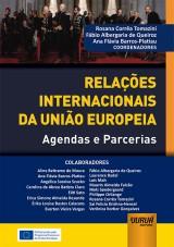 Capa do livro: Relações Internacionais da União Europeia, Coordenadores: Rosana Corrêa Tomazini, Fábio Albergaria de Queiroz e Ana Flávia Barros-Platiau