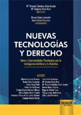 Capa do livro: Nuevas Tecnologías y Derecho, Directoras: María Yolanda Sánchez-Urán Azaña y María Amparo Grau Ruiz - Coordinadores: Bruno César Lorencini y José Carlos Francisco